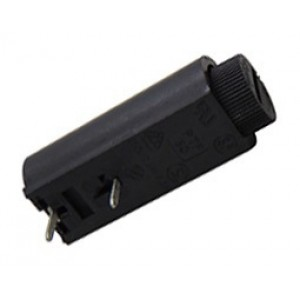 Ασφαλειοθήκη τυπωμένου οριζόντια για ασφάλεια 5x20mm