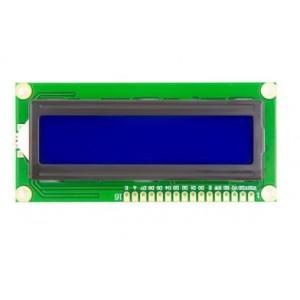 Ετοιμα κυκλωματα - LCD ΟΘΟΝΗ 2x16 ΧΑΡΑΚΤΗΡΕΣ ΜΕ ΜΠΛΕ ΦΟΝΤΟ 5V