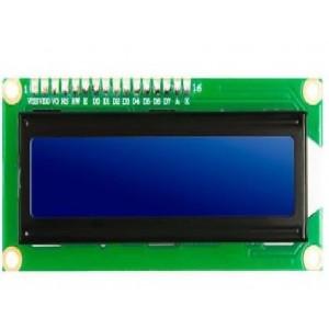 Ετοιμα κυκλωματα - LCD ΟΘΟΝΗ IIC/I2C 2x16 ΧΑΡΑΚΤΗΡΕΣ ΜΕ ΜΠΛΕ ΦΟΝΤΟ