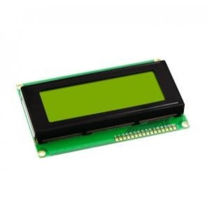 Ετοιμα κυκλωματα - LCD ΟΘΟΝΗ 4x20 ΧΑΡΑΚΤΗΡΕΣ ΜΕ ΚΙΤΡΙΝΟ/ΠΡΑΣΙΝΟ ΦΟΝΤΟ