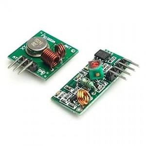 Ετοιμα κυκλωματα -  433Mhz Rf WIRELESS TRANSMITTER AND RECEIVER KIT