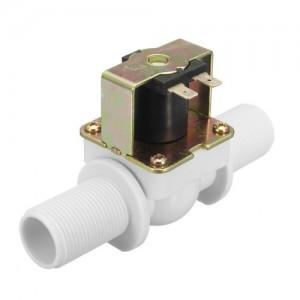 Ετοιμα κυκλωματα - PLASTIC ELECTRIC 12V WATER SOLENOID VALVE