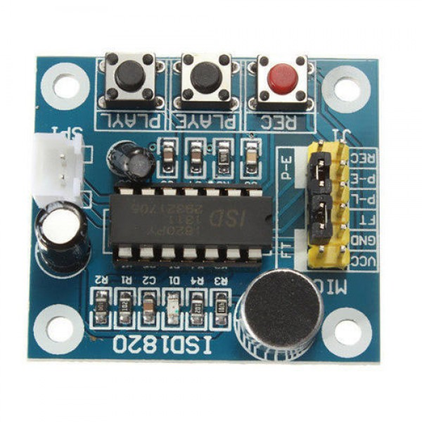 Ετοιμα κυκλωματα - ISD1820 VOICE BOARD MODULE SOUND RECORDING