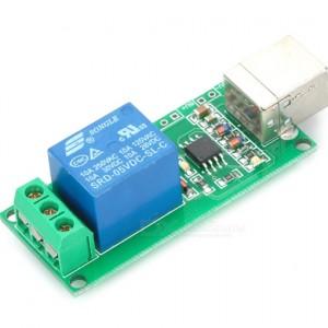 Ετοιμα κυκλωματα - USB CONTROL 5V RELAY MODULE