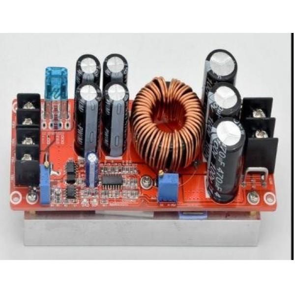 Ετοιμα κυκλωματα - 1200w DC DC Boost Step Up Converter 8-60V to 12-83V 20A For Car Laptop Solar Battery