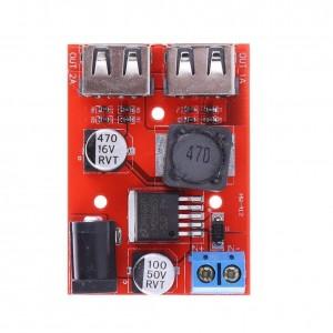 Ετοιμα κυκλωματα - STEP DOWN WITH 2 OUTPUT USB 5V 3A