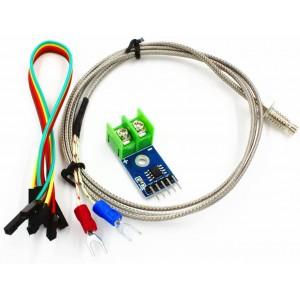 Ετοιμα κυκλωματα - MAX6675 MODULE + K TYPE THERMOCOUPLE TEMPERATURE SENSOR